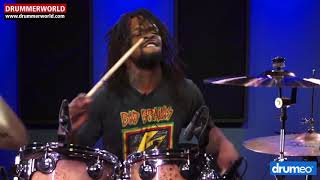 Thomas Pridgen: DRUM SOLO in the Studio...