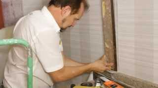 How to Install Vinyl Wallpaper in a Washroom