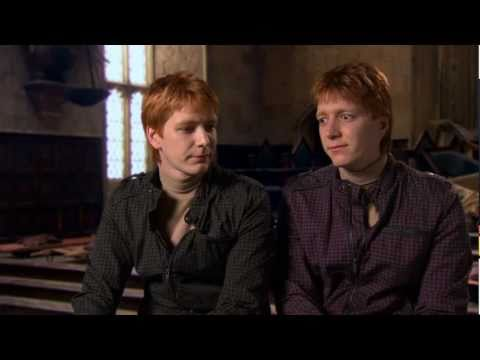 James Phelps & Oliver Phelps 'Harry Potter and the Deathly Hallows Part 2' Interview