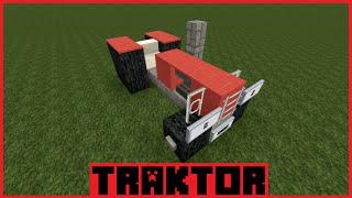 minecraft tutorial traktor bauen deutsch. Black Bedroom Furniture Sets. Home Design Ideas