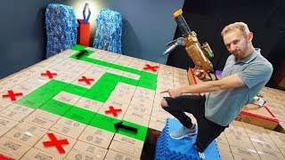 Download NERF Don't Fall In The Box Challenge! Mp3 and Videos