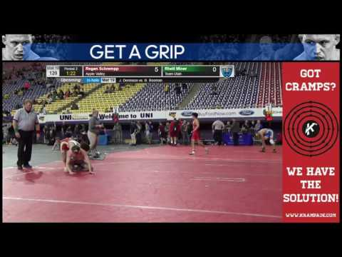 3081 Cadet 120 Mat 18 Rhett Miner Team Utah vs Regan Schrempp Apple Valley celiywhr 6483738104