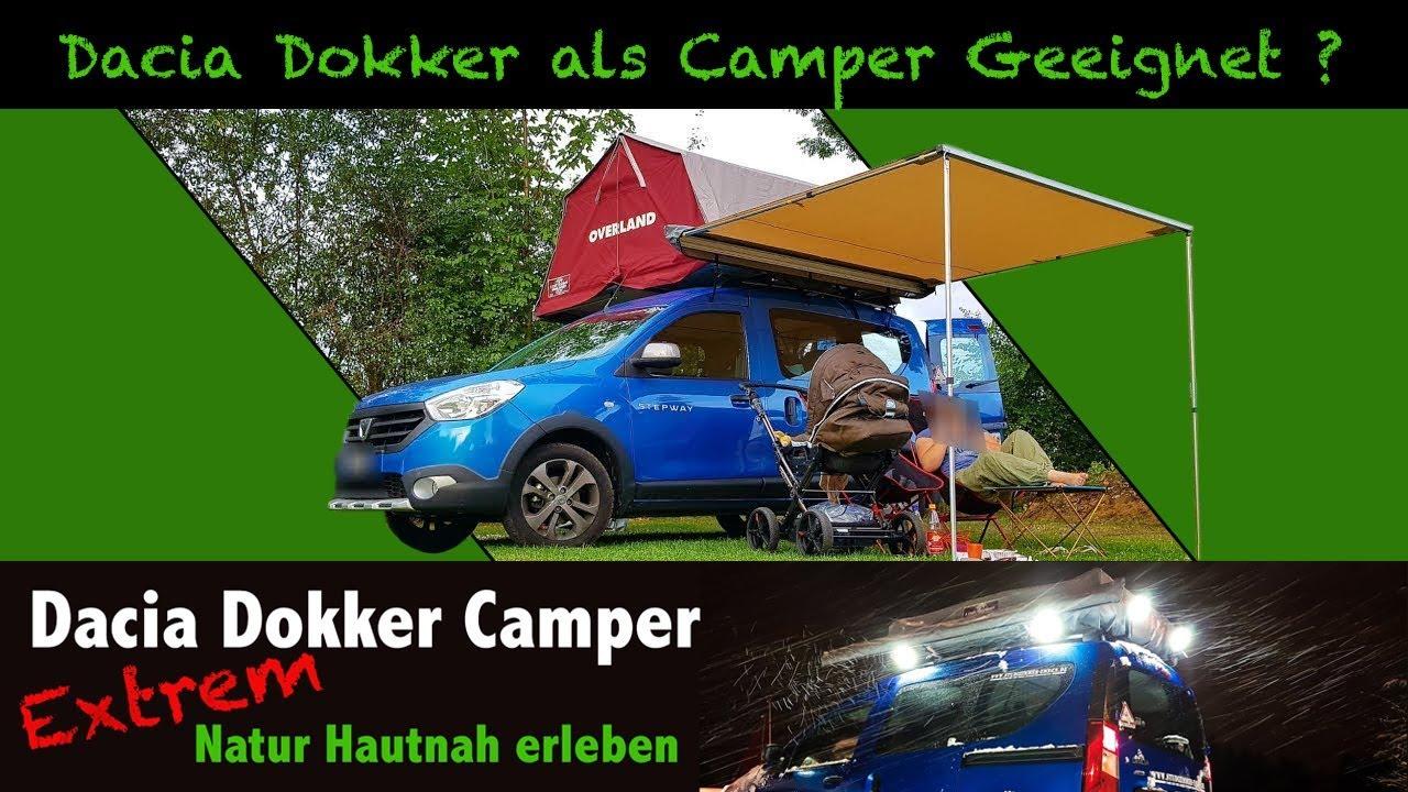 Super 👍 Dacia dokker stepway 2017 camping gibt es Probleme mit den #HN_77