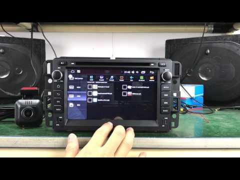 Chevrolet Silverado Tahoe GMC Yukon Compatible Bose System And Onstar Android Car Stereo Head Unit