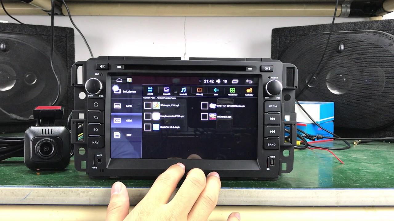 medium resolution of chevrolet silverado tahoe gmc yukon compatible bose system and onstar android car stereo head unit