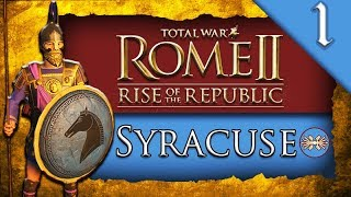 Total War ROME II Rise of the Republic Syracuse C aign Gameplay