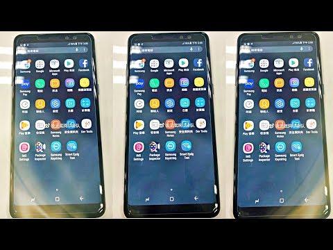 Samsung Galaxy A8 2018 Plus LIVE!!!!