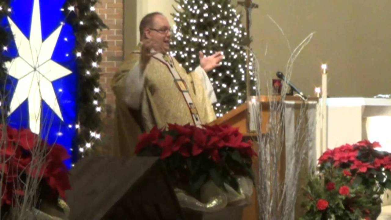 St. Alexander's Midnight Mass part two  12-25-15