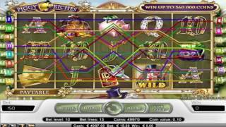 Free Piggy Riches Slot by NetEnt Video Preview | HEX