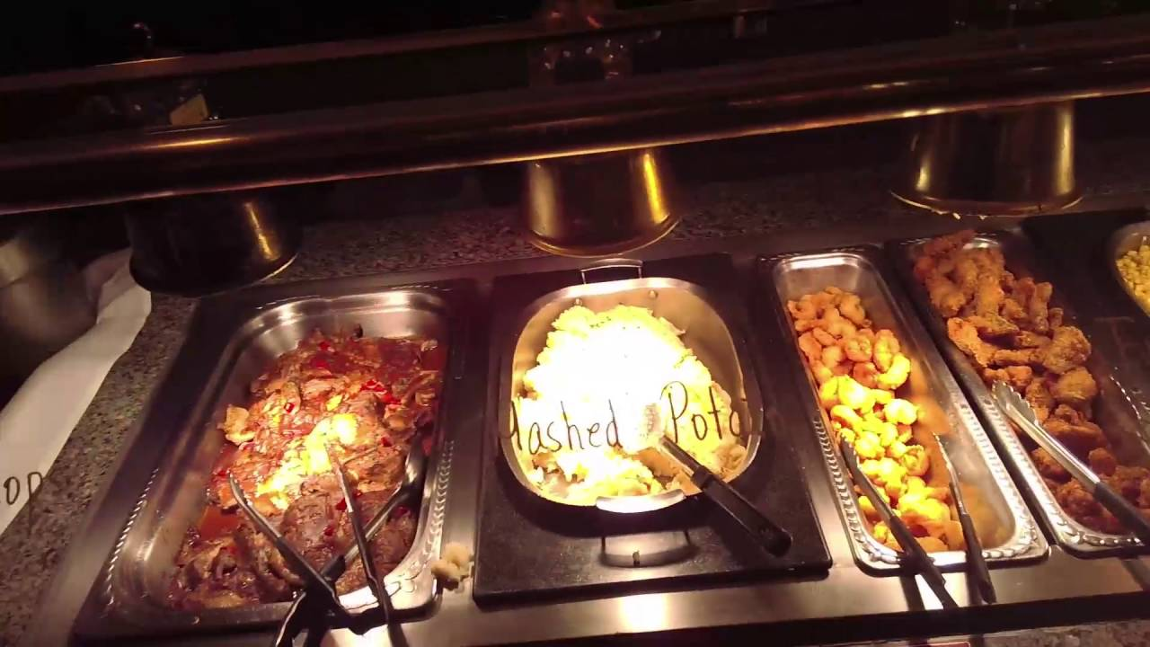 inside the fremont casino buffet in las vegas youtube rh youtube com fremont street seafood buffet fremont hotel las vegas seafood buffet