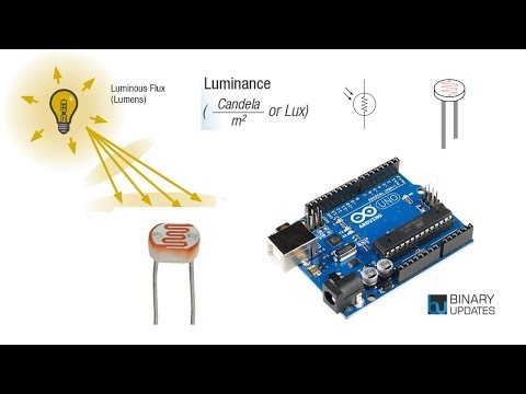 LDR With Arduino - Measure Light Intensity Using Photoresistor