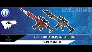 ЕМГ зброї Ф-1 і Фалкор АЕГ інструкція