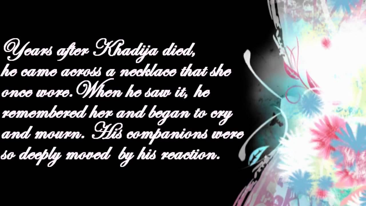 Muhammad and khadija