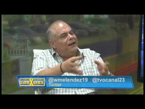 """Paul Steiner y Roberto Burgos en """"Conexiones con William Meléndez"""""""