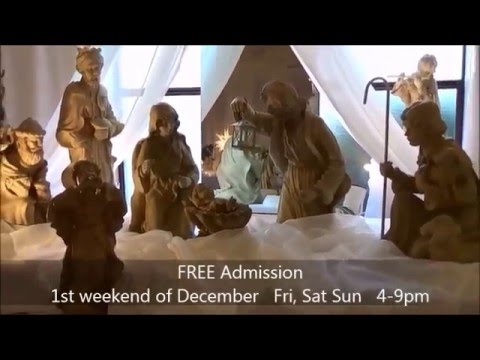 Community Festival of Nativities - Longview WA -  narrated by Kevin Hunter TBFS Radio