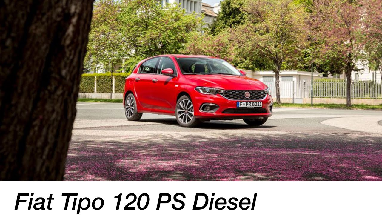 Fiat Tipo 5-Türer 1.6 MultiJet (120 PS Diesel) Test / Einfaches Auto ...