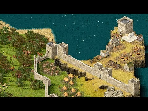 stronghold-|-ep.-14-|-ultimate-castle-defense-strategy-traps-&-fire-|-stronghold-hd-gameplay