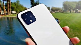 Google Pixel 4 XL 4K Video Test!