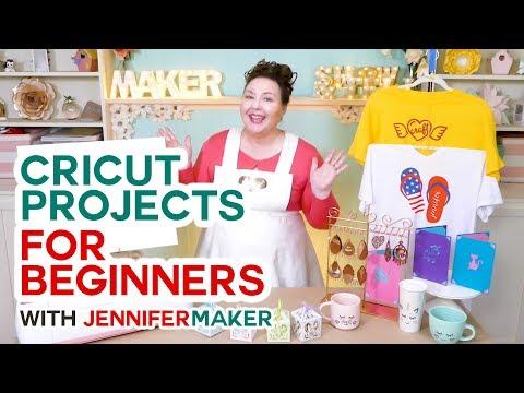Cricut Projects for Beginners - Ideas & Tutorials - Jennifer