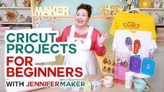 Cricut Projects for Beginners - Easy Ideas & Tutorials