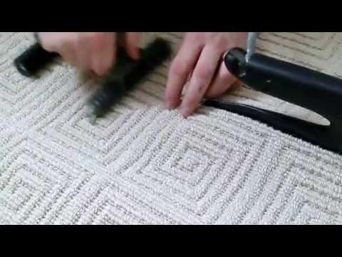 Сварка шва коврового покрытия