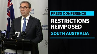 SA reimposes restrictions on social gatherings as two new coronavirus cases recorded | ABC News