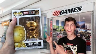 chrome marvel 10 year funko pop hunting