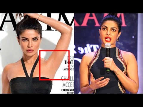 Priyanka Chopra's SHOCKING Reply On Clean Armpit Controversy