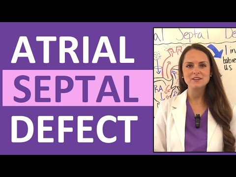 Atrial Septal Defect (ASD) Nursing | Congenital Heart Defects Pediatrics NCLEX