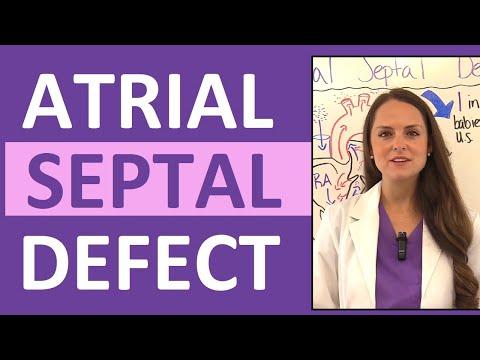Atrial Septal Defect (ASD) Nursing | Congenital Heart Defects Pediatrics NCLEX