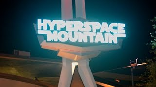 Take a ride on Hyperspace Mountain at Disneyland