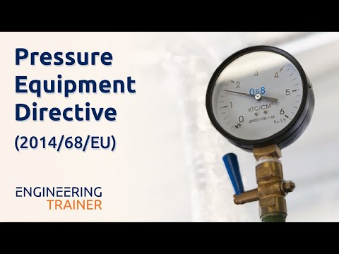 Online Course Promo - Pressure Equipment Directive (2014/68/EU)