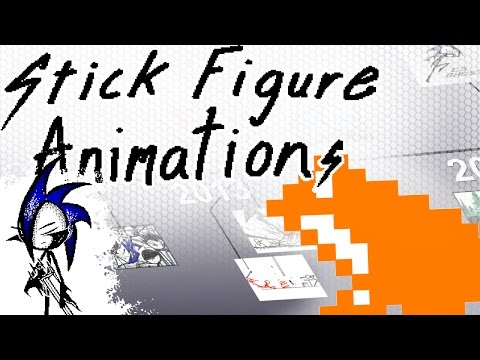 My Old Stick Figure Animation Flipnotes [No Commentary][HD]