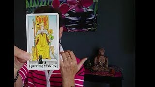 Queen of Wands - Vibrant Appreciation For Life: Tarot Court Card Meaning