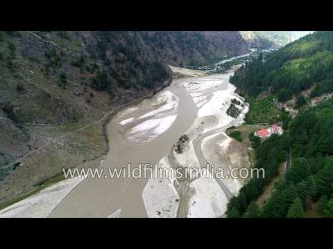Harsil : Where Ganges Finds Release, Opens Into A Wide Valley With Many Braided Channels