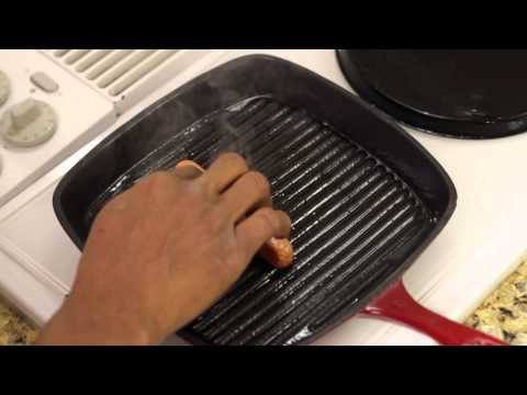 Can you cook hot dogs in a pan on the stove