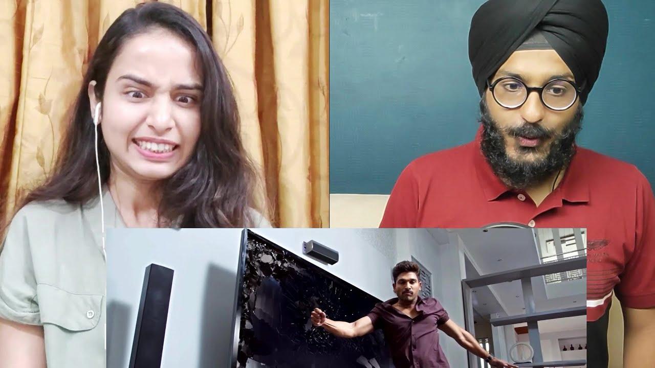 Download SARRAINODU Brand Fight Scene Reaction | Allu Arjun | MASS Fight Scene | Parbrahm Singh