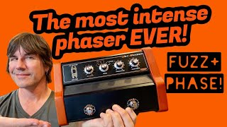 THE MOST INTENSE PHASER EVER! A Classic Returns WARM AUDIO JET PHASER