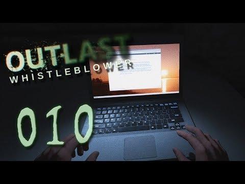 Outlast + Whistleblower #010 - Vertippt und angeleckt - Let's Play - Deutsch German