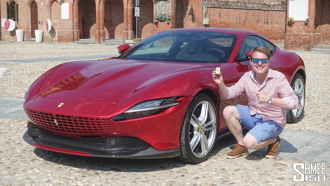 New FERRARI ROMA! My First Drive in the Best Grand Tourer