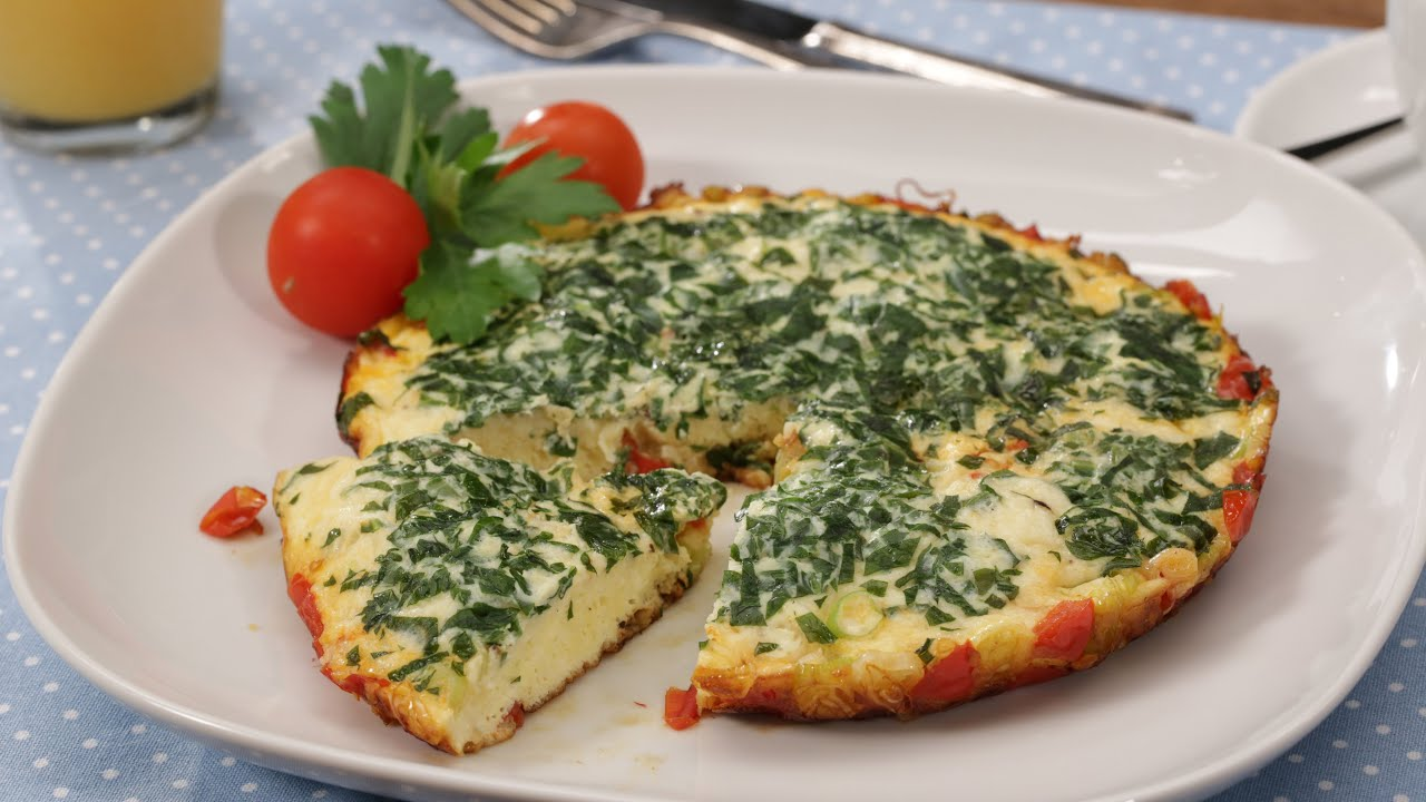 tomaten omelette mit frischem rucola brunch chefkoch youtube. Black Bedroom Furniture Sets. Home Design Ideas