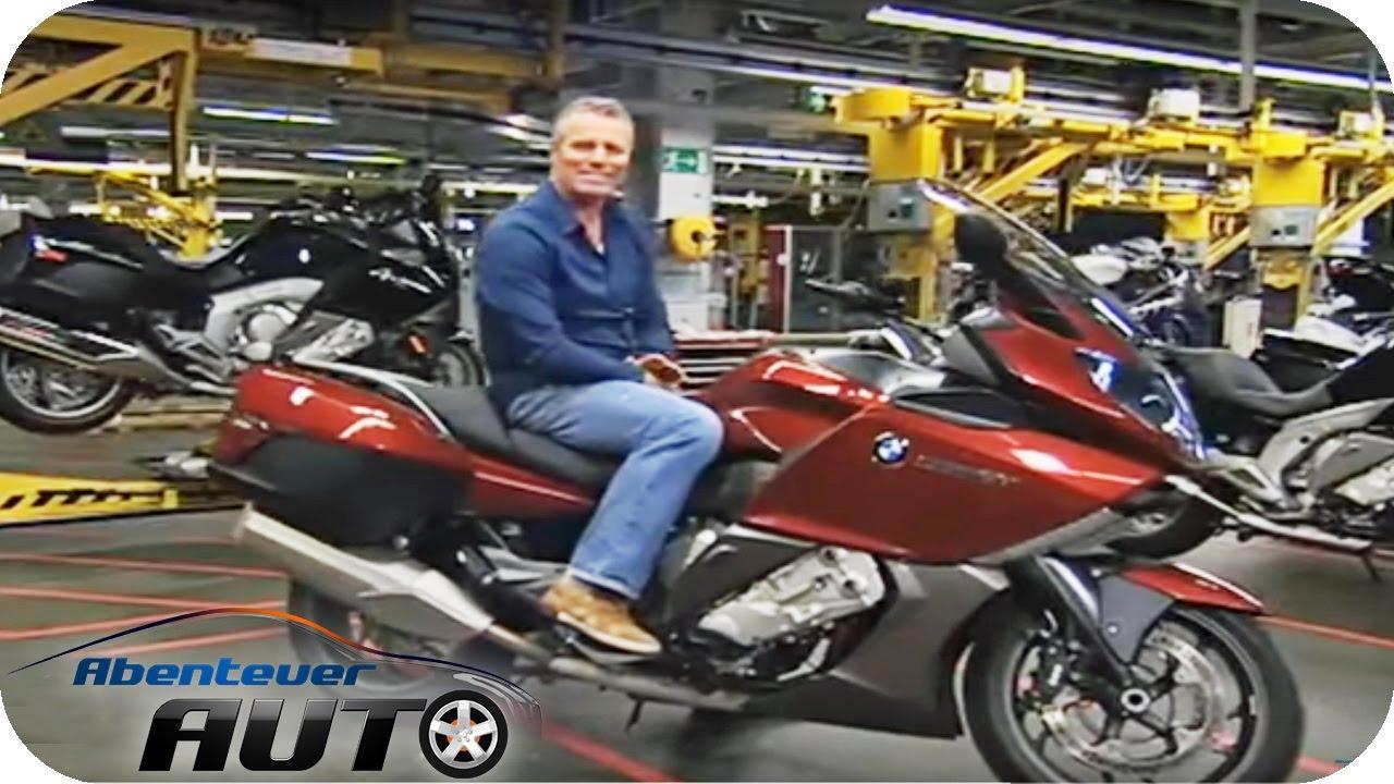 Jan Stecker Zu Besuch Im Bmw Motorradwerk Berlin Abenteuer Auto