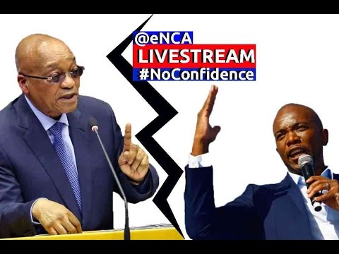 President Zuma faces motion of no confidence - YouTube