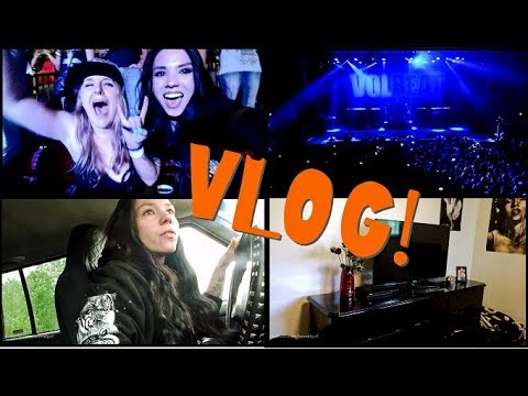 VLOG: June 5th-6th | Volbeat Concert, Apartment Tour, & MORE Puppies Born!