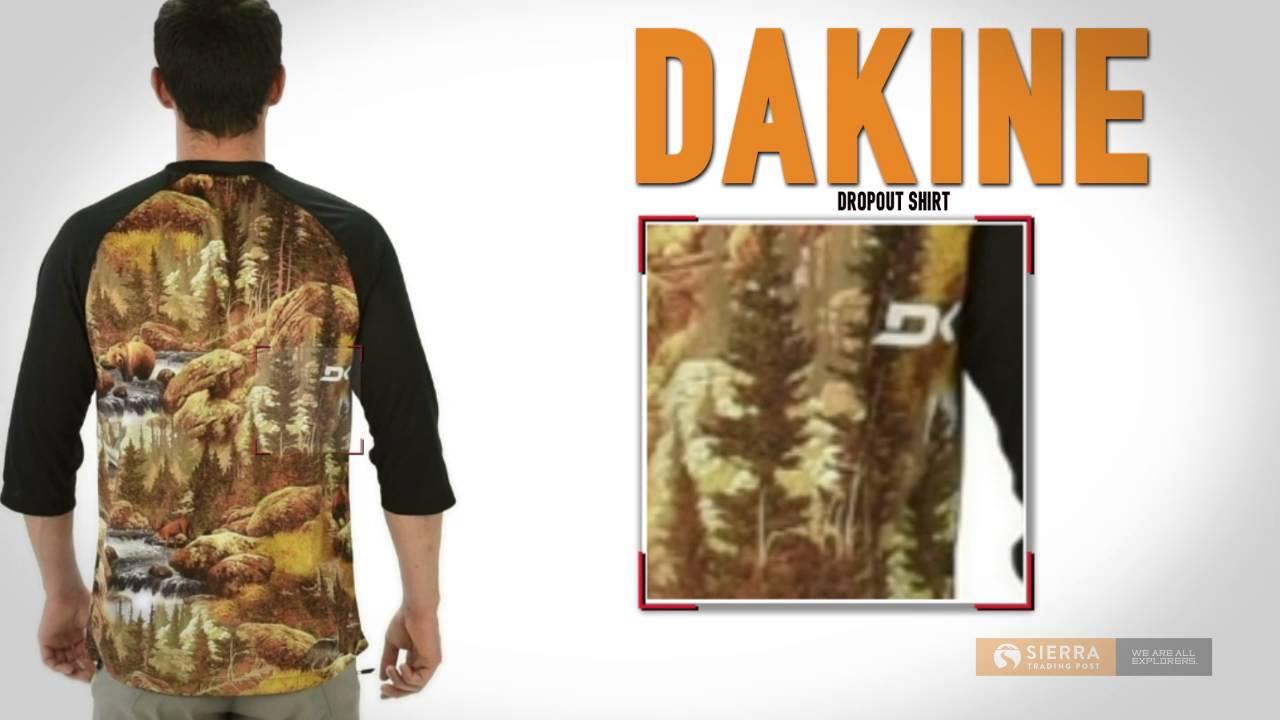 DaKine Dropout Shirt - 3 4 Sleeve (For Men) - YouTube eeb256201