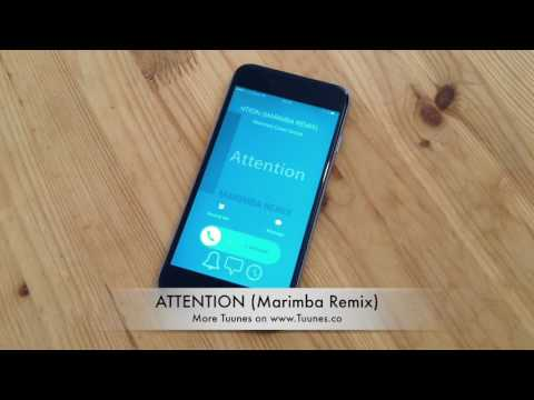 ATTENTION Ringtone - Charlie Puth Tribute Marimba Remix Ringtone - Download for iPhone & Android