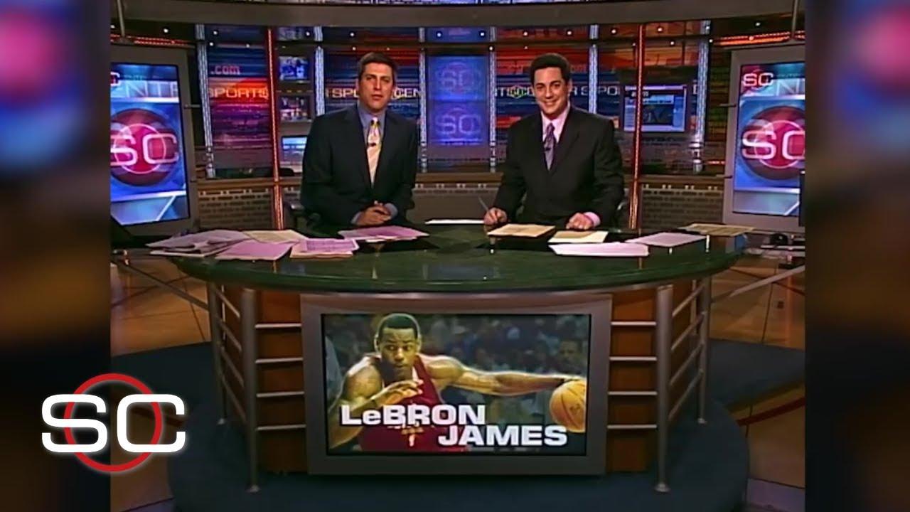 LeBron James' first SportsCenter NBA highlight | SportsCenter | ESPN Archives