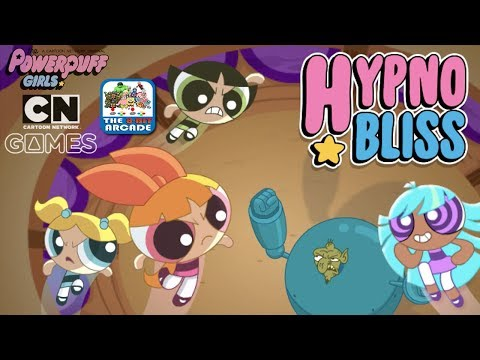 The Powerpuff Girls: Hypno Bliss - Bliss Has Been Hypnotized By The Evil Gnat (CN Games)