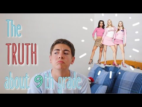 The TRUTH About 9th Grade! My 9th Grade Experience!