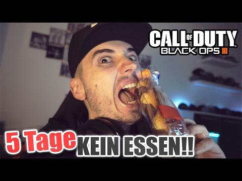 DIE LETZTEN STUNDEN OHNE ESSEN | Black Ops 3 LIVE (+ HEFTIGES GAMEPLAY)